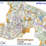 140411 MTBO Lång Danmark